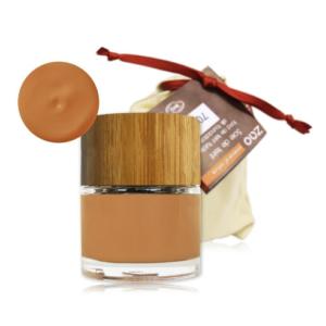 Base de maquillaje fluido hipoalergénico Zao albaricoque 702