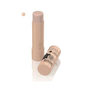 Corrector de ojeras e imperfecciones hipoalergénico Lavera stick Ivory 01