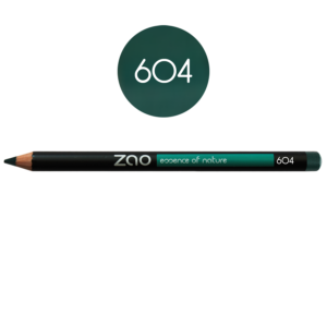 Lápiz de ojos Zao verde 604