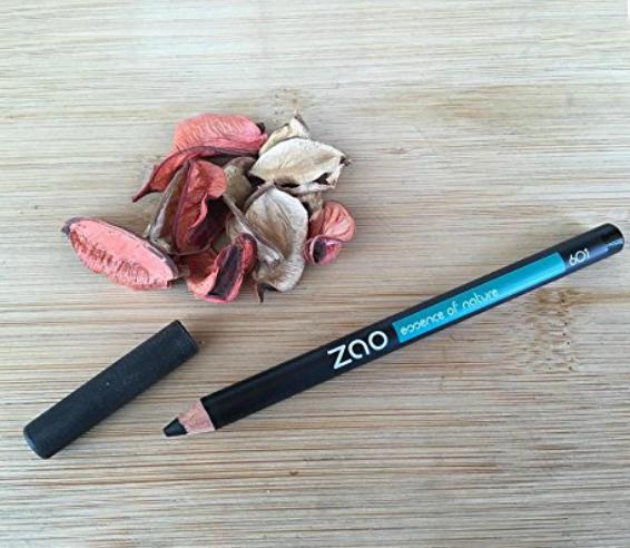 Lápiz de ojos Zao negro 601 ecológico