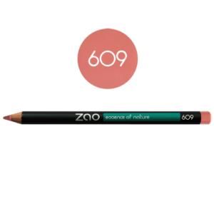 Lápiz de ojos Zao Rosa 609