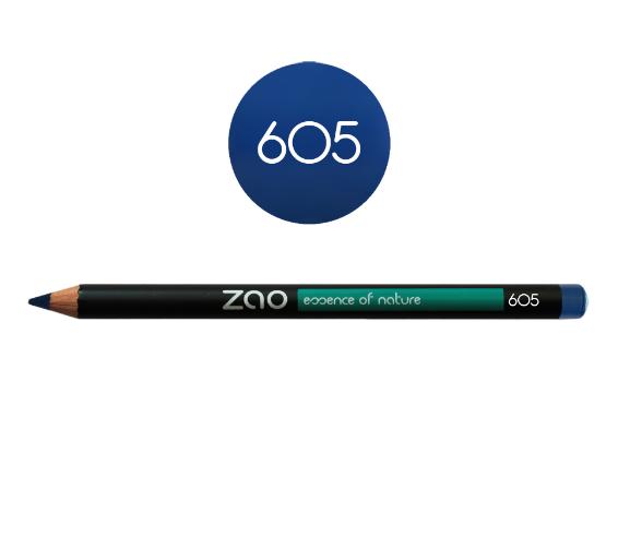 Lápiz de ojos azul Zao 605