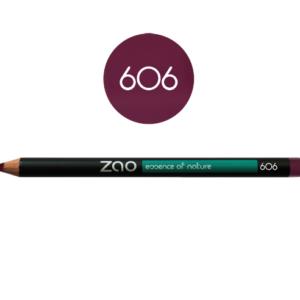 Lápiz de ojos Zao ciruela - 606 multifunción