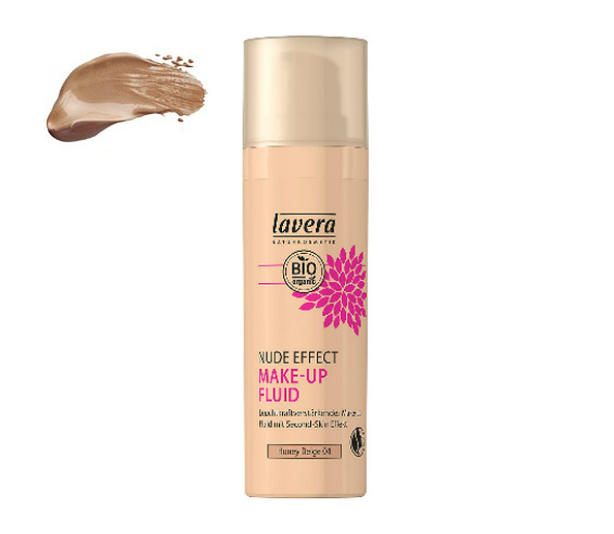 Lavera Base de maquillaje fluido Nude Effect - Honey Beige 04