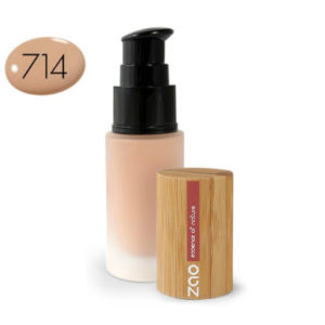 Zao base maquillaje 714 beige natural