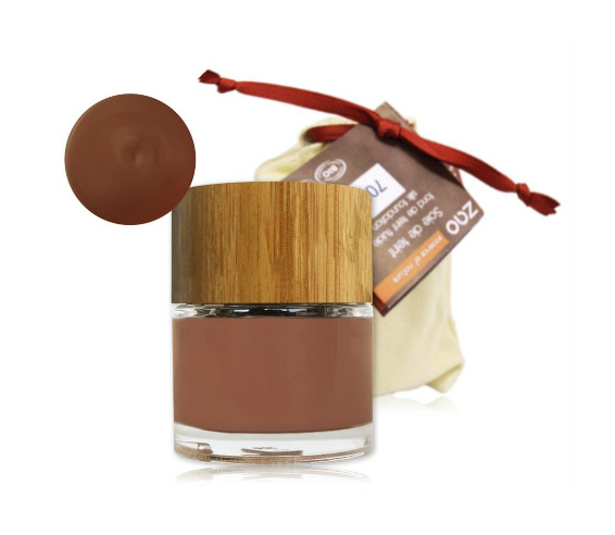 Zao Base de maquillaje fluido ecológico Chocolate 706