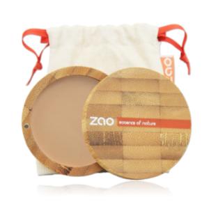 Zao Polvo compacto beige Organgé 302 ecológico