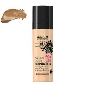 Lavera Base de maquillaje larga duración (10h) - Almond Amber 05