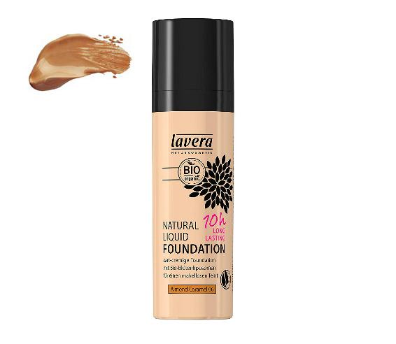 Lavera Base de maquillaje larga duración (10h) - Almond Caramel 06
