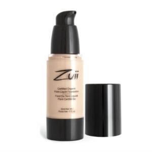 Zuii Organic base de maquillaje líquida hipoalergénica Beige Light