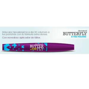Dermalook máscara de pestañas hipoalergénica butterfly x-tra volumen