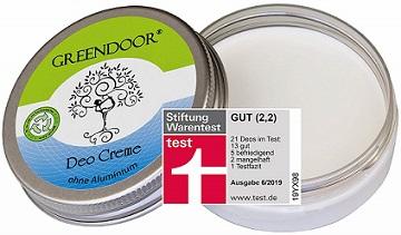 Desodorante en crema vegano y sin aluminio