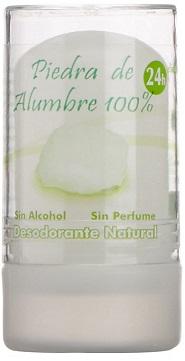 Desodorante de piedra de alumbre natural sin aluminio