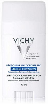 Desodorante sin aluminio vichy