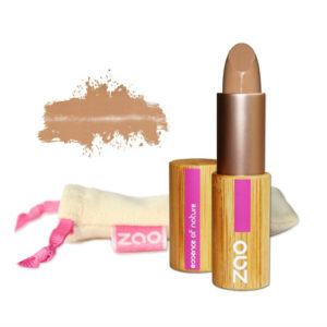Zao Make-Up corrector ojeras e imperfecciones marrón rosado 493