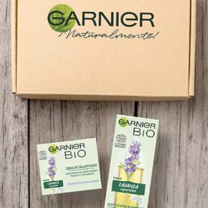 Garnier Bio Kit Cuidado facial antiedad de crema y aceite