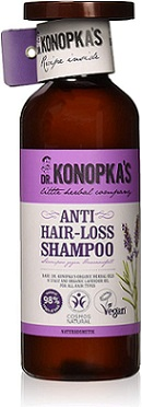 Champú natural anticaída del cabello